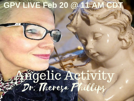 Angelic Activity Live Broadcast WIth Dr Theresa Phillips