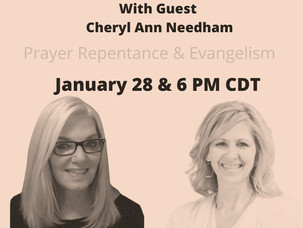 Keys In The Prophetic Live Broadcast Jan 28 6 PM CDT