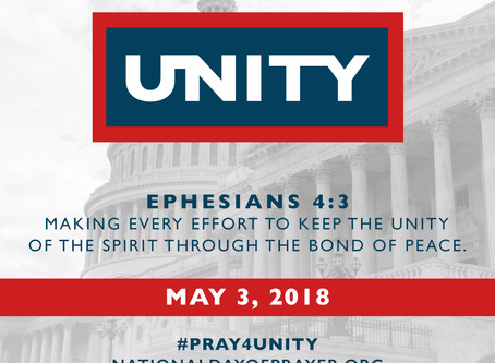 National Day of Prayer Focus UNITY