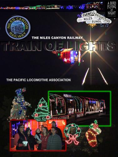 "Niles Canyon Railway ""Train of Lights"""
