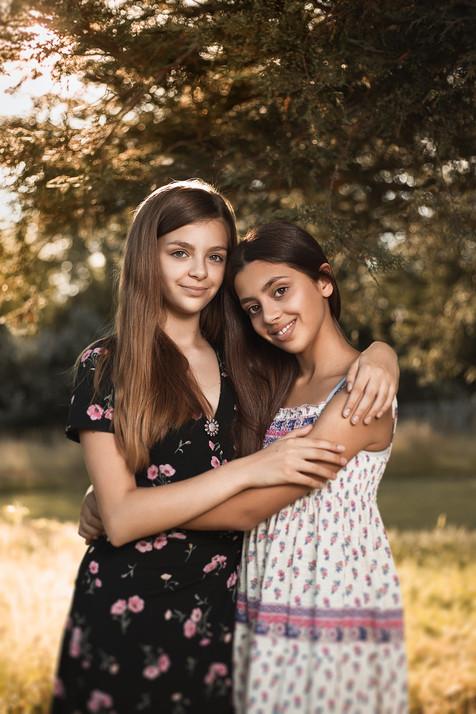 Megan and Keira
