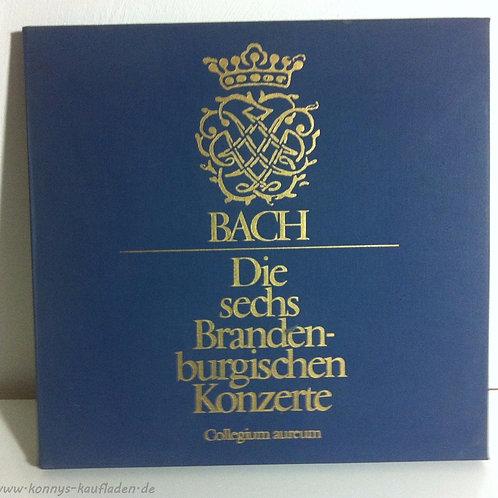 Doppel Vinyl LP - J.S. Bach- 6 Brandenburgische  Konzerte