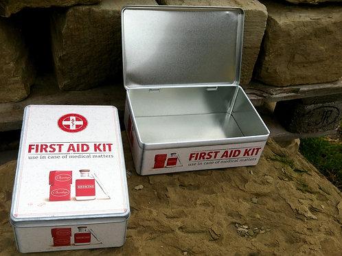 FIRST AID KIT - Erste Hilfe  -Box  - ohne INHALT
