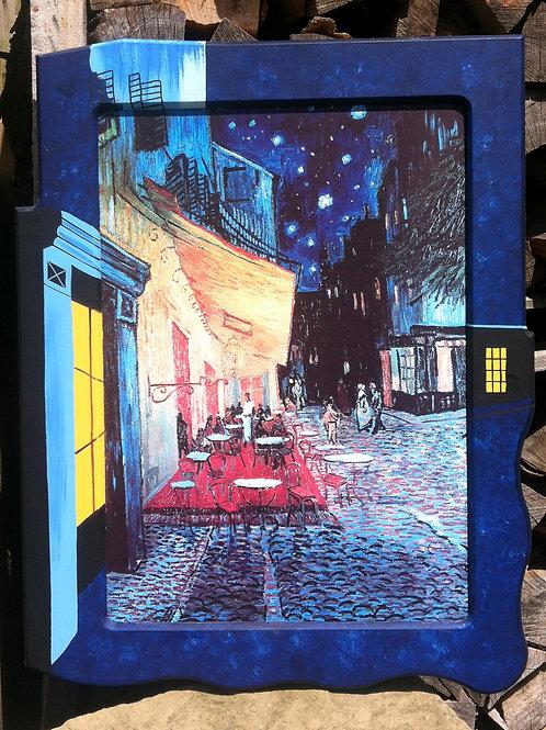 Kunstdruck VINCENT VAN GOGH Cafe' de nuit Straßencafe - 81 x 62cm