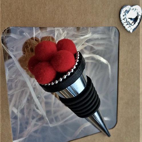 Konischer Flaschen Stopper Verschluss handmade BOLLENHUT Topping