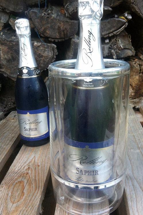 Champagner & Sekt FLASCHENKÜHLER aus PLEXIGLAS