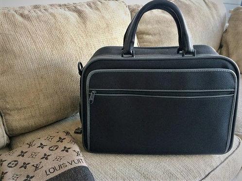 STRATIC Handgepäck Koffer - Beauty Case - Business Koffer -grau NEUWERTIG