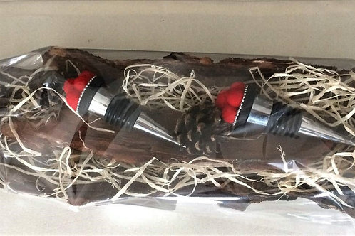 2 Konischer Flaschen Stopper Verschluss handmade BOLLENHUT Topping