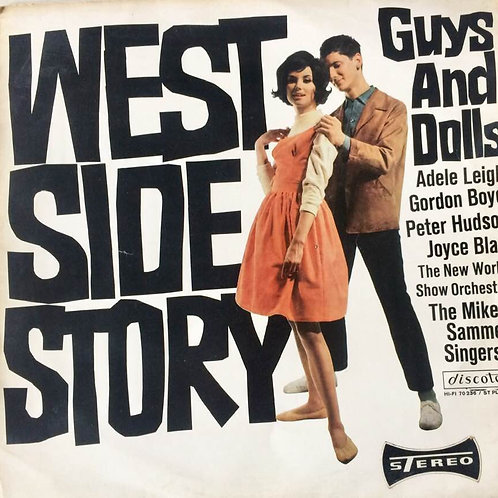 West Side Story/ Guys and Dolls LP Vinyl Schallplatte- Leonard Bernstein