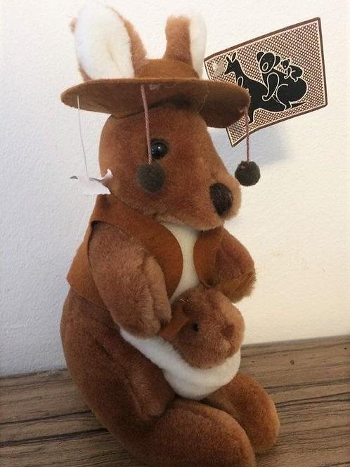 Plüschtier Kangaroo Swaggie Kanguru Australien Souvenir NEU