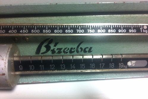 Antike KÜCHENWAAGE Marke BIZERBA -  20 kg