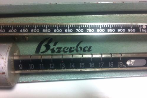Antike Kuchenwaage Marke Bizerba 20 Kg