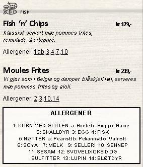 Fisk og sjømat