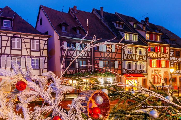 Mercado de Natal de Colmar | da série: Os principais e mais bonitos mercados de Natal da França