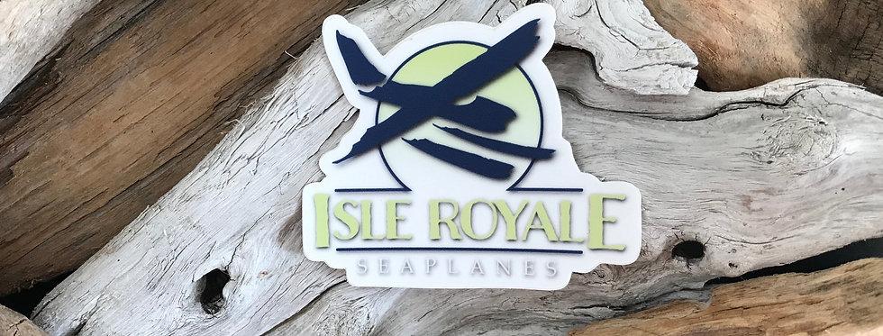 Isle Royale Seaplanes Logo Sticker