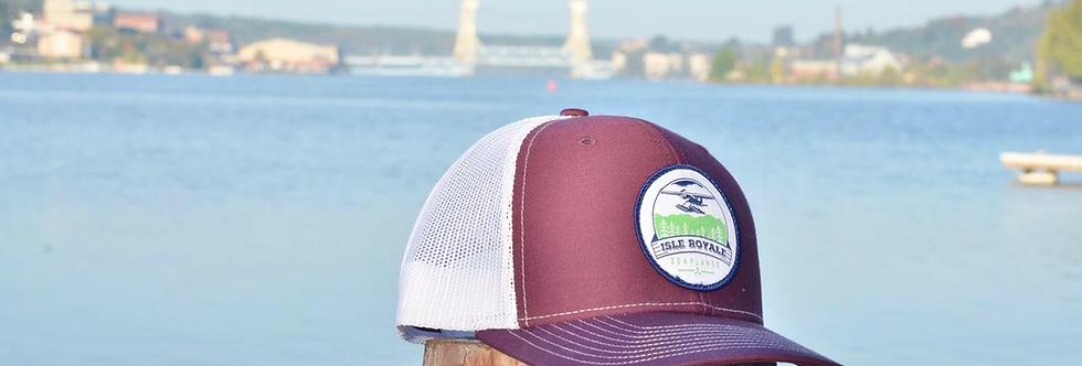Maroon Trucker Hat