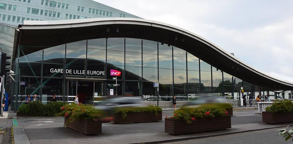 Destino France | Guia brasileiro na França | Guia brasileiro em Paris | Gare Lille Europe