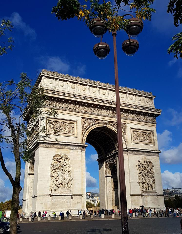 Destino France | Guia brasileiro em Paris | Arco do Triunfo