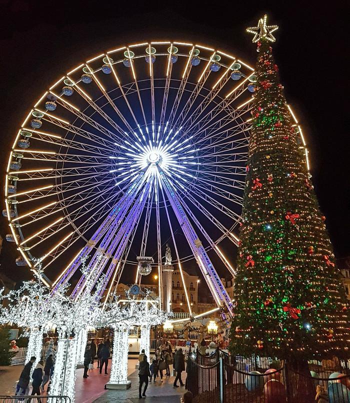Mercado de Natal de Lille | da série: Os principais e mais bonitos mercados de Natal da França