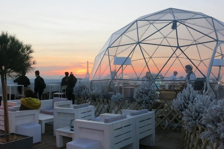 Os melhores terraços aquecidos para curtir o inverno em Paris
