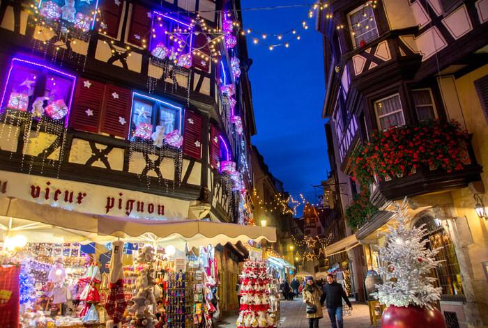 Mercado de Natal de Strasbourg | da série: Os principais e mais bonitos mercados de Natal da França