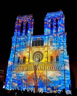 Espetáculo de Luzes e Sons na Notre-Dame de Paris