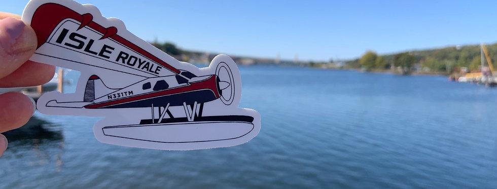 Isle Royale Beaver #2  Sticker