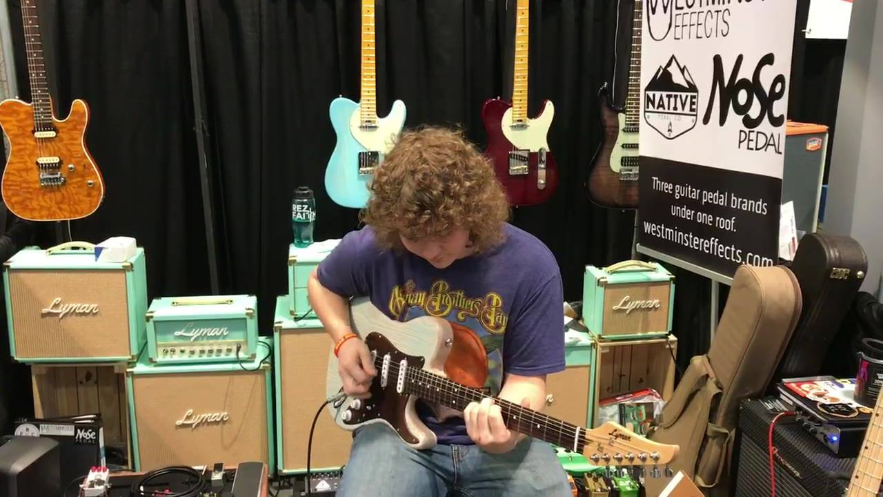 Check out Joey Pierce playing our Lyman CS-2 built right here in the US for only $799. New artist collaborations coming soon 😎