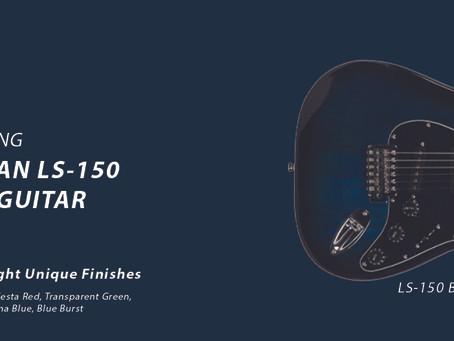 Lyman LS-150 S-Style Guitar