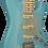 Thumbnail: Lyman CS-3 Lyman Blue Burst S-Style Guitar