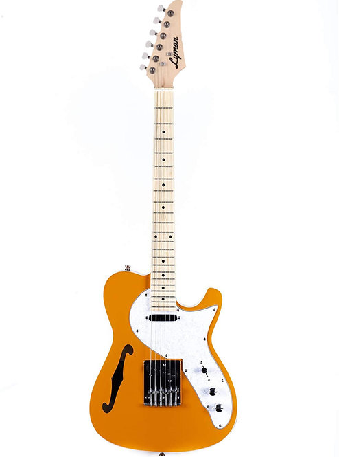 Lyman LT-300H Semi-Hollow T-Style Guitar