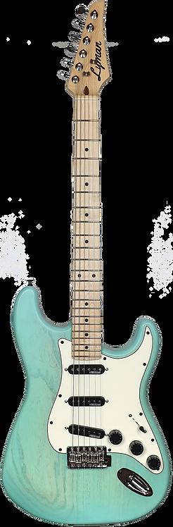 Lyman CS-3 Mint Green S-Style Guitar