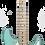 Thumbnail: Lyman CS-3 Mint Green S-Style Guitar