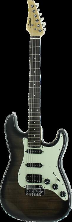 Lyman LS-300 S-Style Guitar