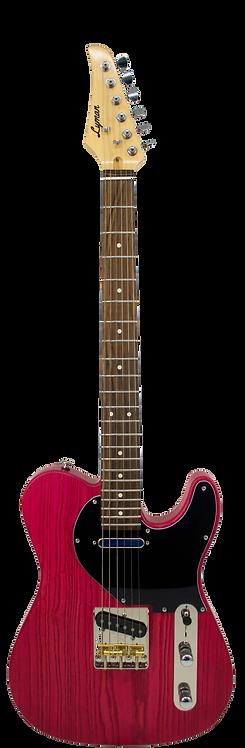 Lyman CS-1 Telemagenta T-Style Guitar