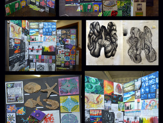 ARTsCOOLuk Exhibition at Uplands Community College