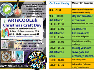 Our Christmas Craft day