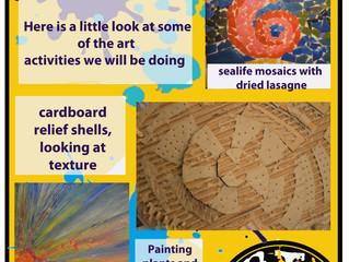 ARTsCOOLuk is coming to Sissinghurst Primary School next week to help with their Arts week