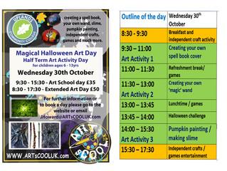 'Magical Halloween Art Day'