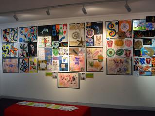 ARTsCOOLuk Exhibition at Cranbrook Library