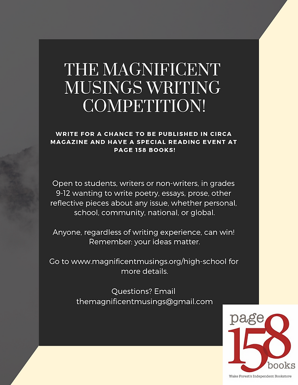 The Magnificent Musings Writing Competit