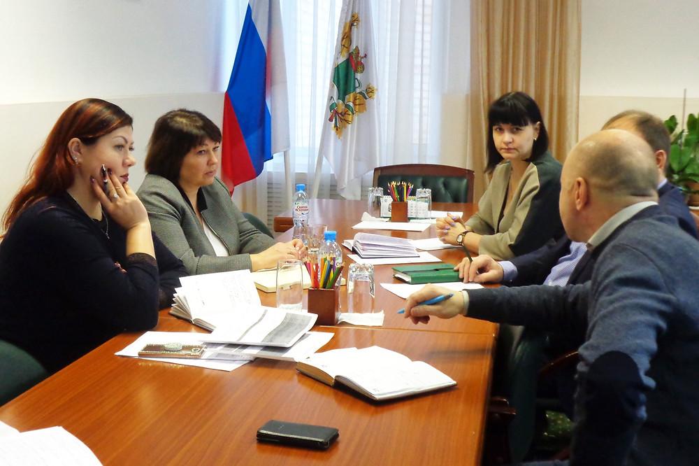 Встреча глав поселений в Первомайском районе