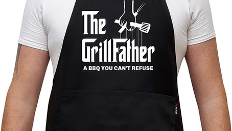 4 Funny Grill Puns On BBQ Aprons Under $20 You Should Know About