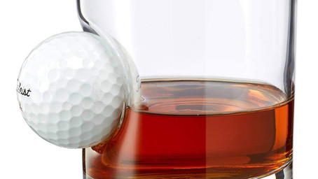 4 Golf Themed Whiskey Glasses Under $20 You Should Know About