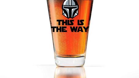 Thirsty Thursday: Star Wars Mandalorian Beer Glass