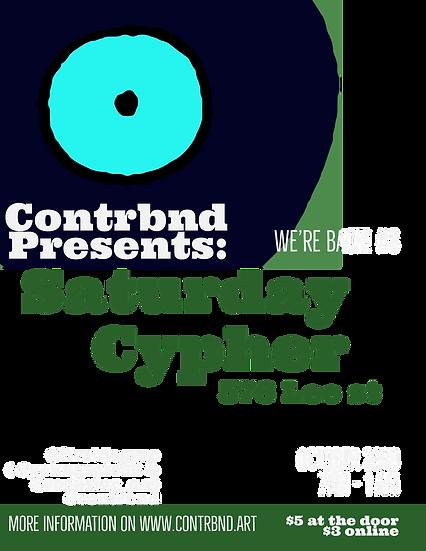 3rd Saturday Cypher (Contrbnd )