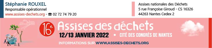 Bandeau 16EME ASSISE DES DECHETS - 2021.