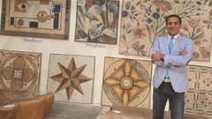 EDMOND BOUTROS MOSAIC - MAITRE D'UN ART D'ASSEMBLER ENSEMBLE
