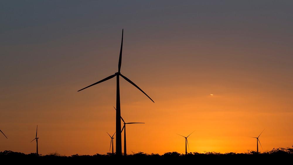Parc éolien de Vamcruz, Brésil, d'une puissance de 93 MW