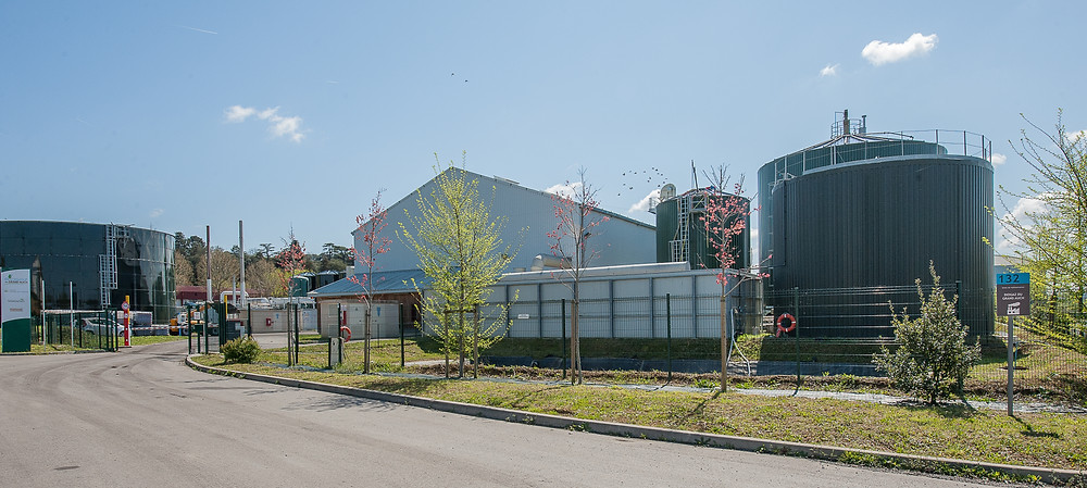 Site Biogaz du Grand Auch (BGA)                    @Dalkia biogaz